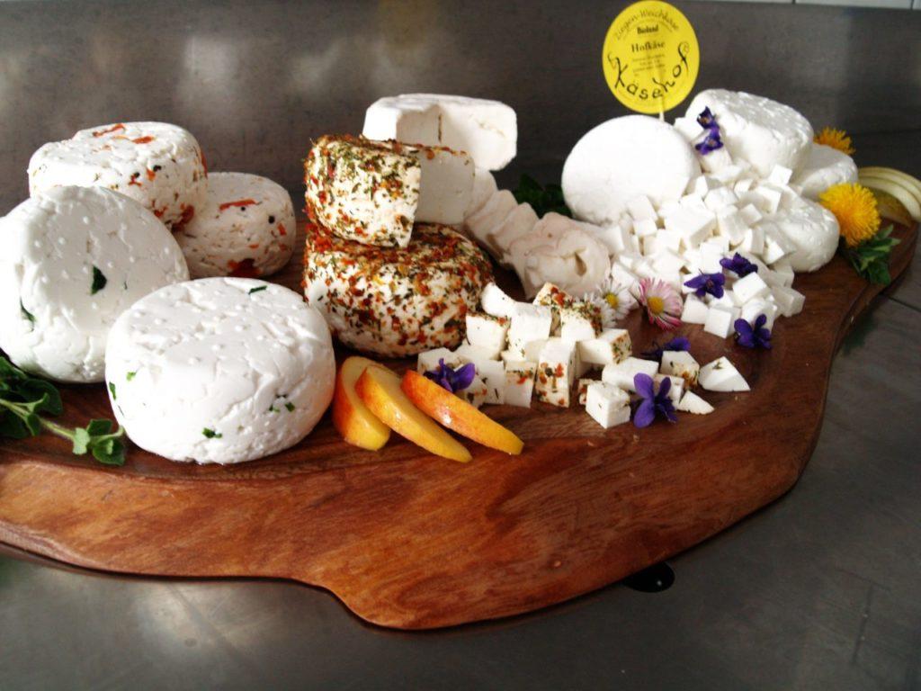 Eine Auswahl unseres Käses