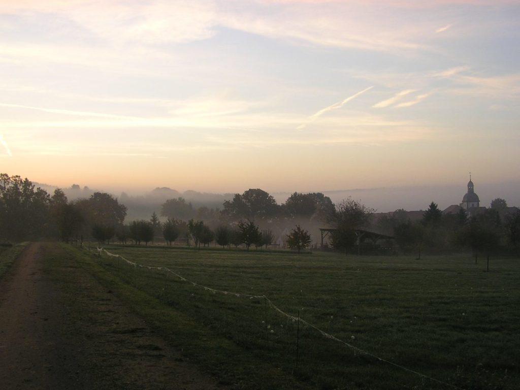 Sonnenaufgang Landolfshäuser Feldmark